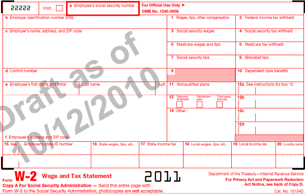 Understanding Your W2 Employer Employee Reporting Form For Tax
